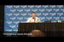 Fred Hoiberg, asked about Isaiah Thomas carrying, responds 'No' and walks off (video)