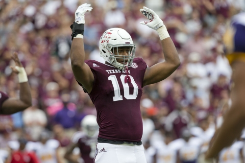 Daeshon Hall's draft stock solid as 11th rated defensive end