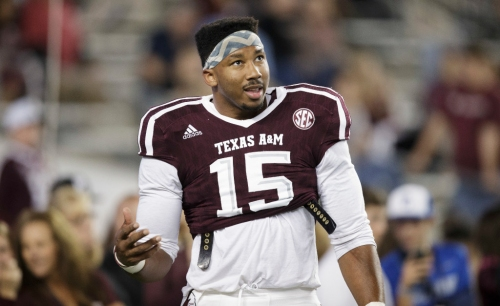 Report: Arlington Martin alum, ex-A&M end Myles Garrett to be first overall pick