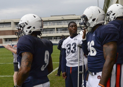 Auburn freshman linebacker K.J. Britt cleared for summer workouts