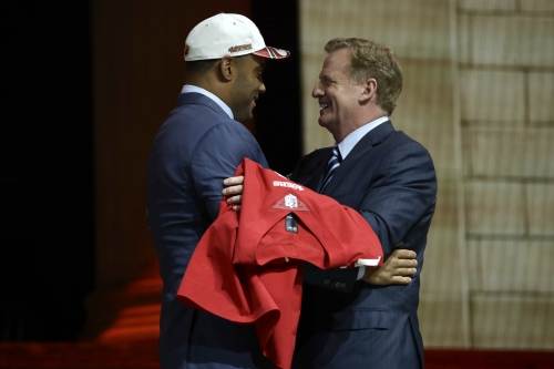 49ers get Solomon Thomas, extra picks in 1st round of draft The Associated Press