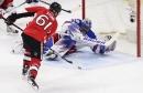 On locked-in night for Henrik Lundqvist, bad bounce beats Rangers