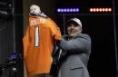 Baby Kingston, not Garett Bolles, steals show at NFL draft