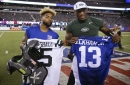 Giants' WR Brandon Marshall likes Odell Beckham's outspokenness