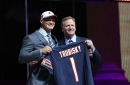 A look at Mitch Trubisky's new home with the Chicago Bears