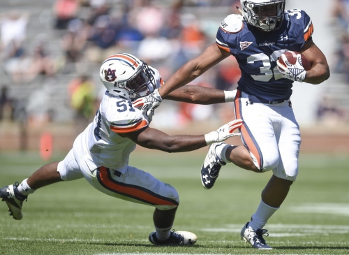 The 'light has clicked on' for Auburn reserve linebacker Richard McBryde