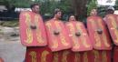 WATCH: Michigan trains at gladiator school in Rome