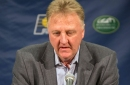 Larry Bird steps down as Pacers president, and an old nemesis steps in