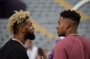 Odell Beckham Jr. to Jamal Adams on Draft night: 'Wrong colors, right city'