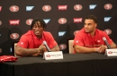 Reuben Foster becomes a 49er with help from call waiting — 'The Saints are still on the other line'