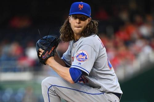 Washington Nationals drop 7-5 decision to New York Mets - Jacob deGrom Ks 12; Mets snap six-game losing streak