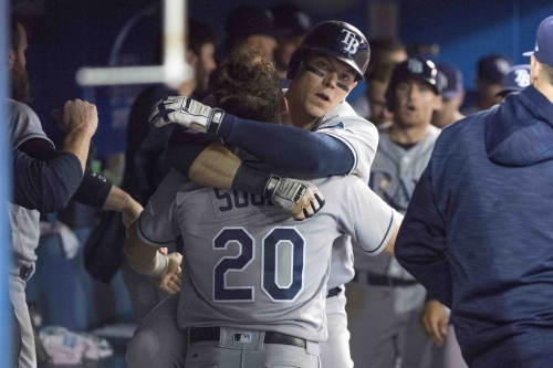 Rays 7, Blue Jays 4: Homers and Souza's Defense Lead Rays To Victory