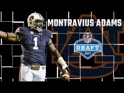 Auburn's Montravius Adams selected late in 3rd round of NFL Draft