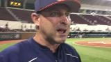 Auburn coach Butch Thompson after 5-2 loss to Mississippi State