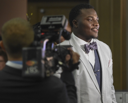 Auburn's Montravius Adams' life changes on Day 2, Carl Lawson slides to Day 3 of NFL Draft