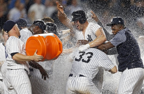 WATCH: Matt Holliday hits walk-off homer for 14-11 Yankees win in game Orioles led 9-1