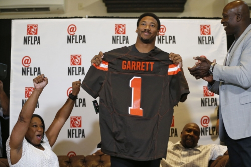 Defensive end Myles Garrett ready to help Browns rebuild