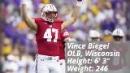 Packers select Wisconsin outside linebacker Vince Biegel