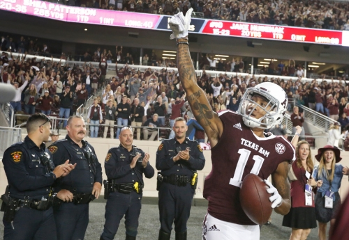 Three thoughts: Los Angeles Rams trade down, select Texas A&M's Josh Reynolds with No. 117 overall pick
