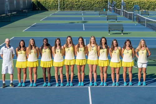 Cal Women's Tennis takes on Stanford for the Pac-12 title at 3pm PT
