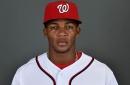 Good face. Bright eyes. Plus-plus speed. Can't lose: Dusty Baker on Washington Nationals' prospect Rafael Bautista...