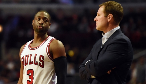 Dwyane Wade has Fred Hoiberg's back, boos and all