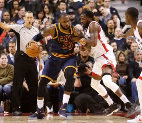 For Raptors, beating Cavaliers starts with LeBron James