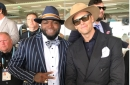 LOOK: Patriots players have fun at the Kentucky Derby with other sports legends