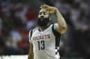 NBA Playoffs 2017: Rockets bombers get hot again, blow by Spurs to even series