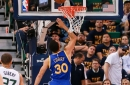 2017 NBA Playoffs: Warriors lead Jazz 60-52 at halftime in potential close out game