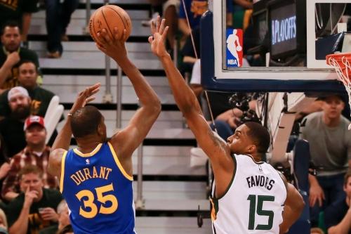 2017 NBA Playoffs Postgame Thread: Warriors destroy Jazz 121-95