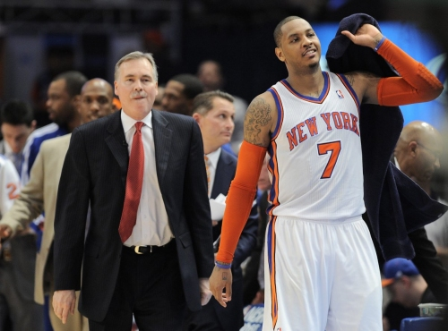 Carmelo Anthony gave 'ultimatum' that forced Mike D'Antoni out