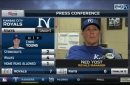 Yost on Royals win: 'We had a lot of confidence tonight'
