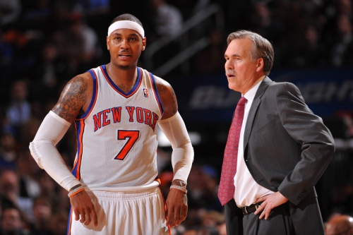 Mike D'Antoni comes clean: I quit because of Carmelo