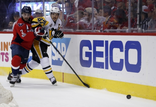 Penguins shut out Capitals in Game 7, advance to East final The Associated Press