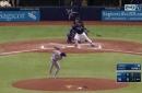 WATCH: Jason Vargas deals, but he's also quite the athlete
