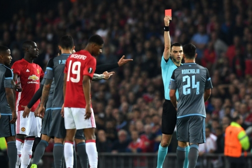 Manchester United 1 - 1 Celta Vigo: United squeak through to the Europa League final