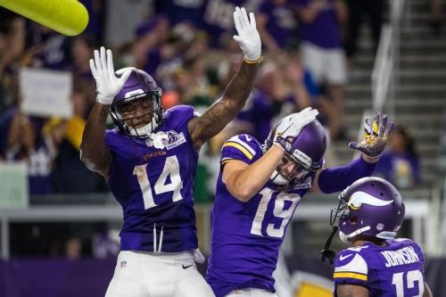 Vikings Receivers: Raising the Floor