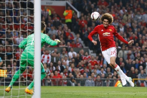 Marouane Fellaini explains his position at Manchester United