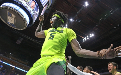 How Baylor PF Johnathan Motley is impressing both on and off the court at NBA combine