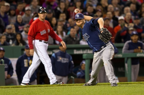 Rays 5, Red Sox 4: Defensive problems almost ruin another good start