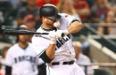 Diamondbacks' Chris Iannetta exits game after taking pitch to the face