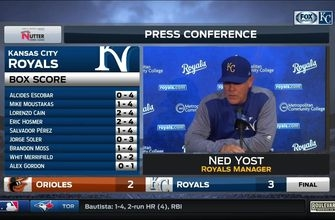 Ned Yost: Moss' homer was 'huge' in Royals' win