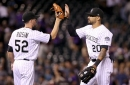 Colorado Rockies thankful for Chris Rusin