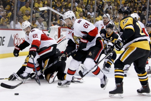 Bobby Ryan lifts Senators past Penguins in OT in Game 1 The Associated Press
