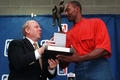 Utah Jazz power forward Karl Malone won the NBA's Most Valuable Player award by 29 points, the second-closest margin in NBA... <div><img src=