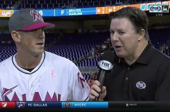 Tyler Moore on pinch-hit HR: I thought it was going to be a double