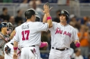 Pinch-hit homer dooms Braves to 3-1 loss in Miami finale
