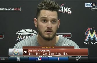 Justin Nicolino: I was trying to be as efficient as possible