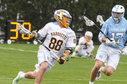 2017 NCAA Men's Lacrosse Tournament: Marquette Falls In The First Round To #4 Notre Dame
